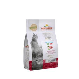Almo Nature - Kat HFC Longevity Sterilized brokken voor oudere gecastreerde / gesteriliseerde katten