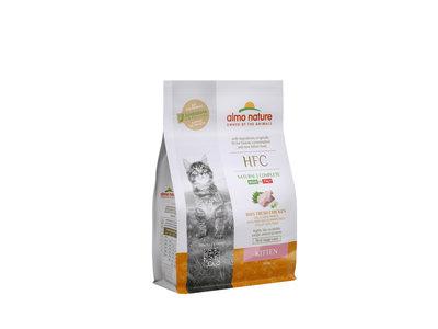 Almo Nature - Kat HFC Kitten brokken voor jonge katjes - kip - 1,2kg, 300gr