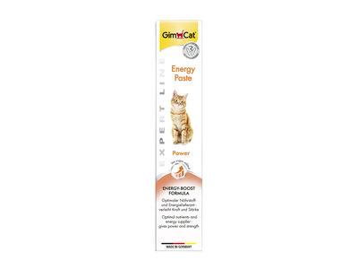 GimCat Energy Pasta - Aanvullend kattenvoer / kattensnack voor extra energie - 50g