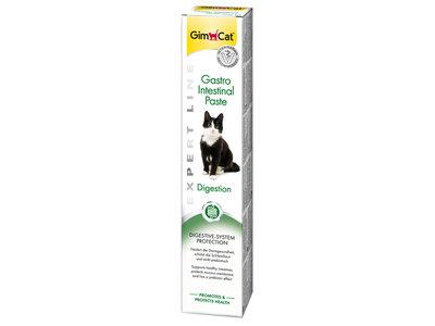 GimCat Gastro Intestinal Pasta - Aanvullend kattenvoer / kattensnack voor een gezond maag-darmkanaal - 50g