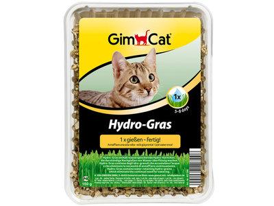 GimCat Hydro Gras - Aanvullend kattenvoer / anti-haarbal kattengras - 150g