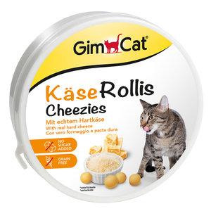 GimCat Kaas-Rollis doos - Kattensnack met echte kaas