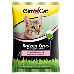 GimCat Kattengras Snelkiemzakje - Anti-haarbal kattengras