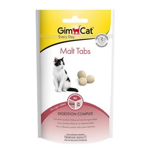 GimCat Malt Tabs - Kattensnack voor gezonde darmen