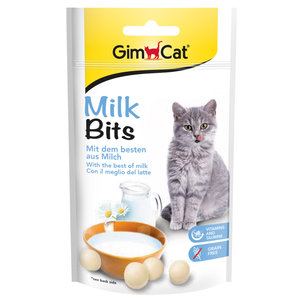 GimCat Milk Bits - Kattensnack met melksmaak