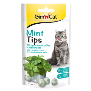 GimCat Mint Tips - Kattensnack met kattenkruid