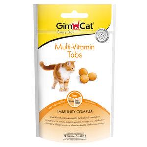 GimCat Multi-Vitamine Tabs  - Kattensnack  met vitaminen