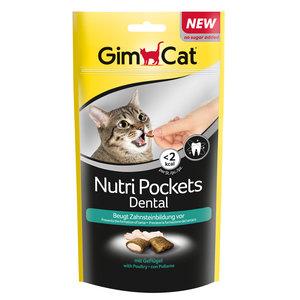 GimCat Nutri Pockets - Kattensnack met gezonde toevoegingen