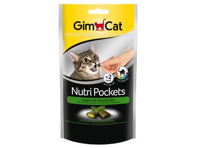GimCat Nutri Pockets - Aanvullend kattenvoer / kattensnack met toevoegingen - In diverse smaken - 60gr, 150gr