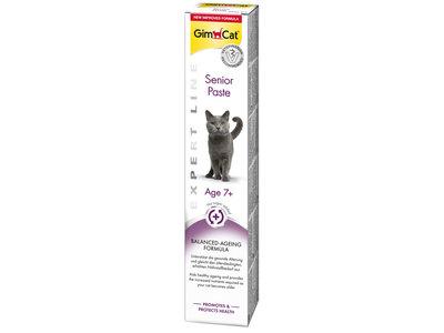 GimCat Senior Pasta  - Aanvullend kattenvoer / kattensnack voor oudere katten - 50g