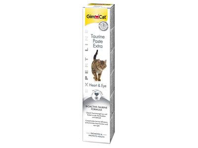 GimCat Taurine Pasta Extra - Aanvullend kattenvoer / kattensnack met taurine - 50g