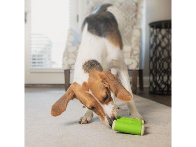 PetSafe Ribinator - Traktatie Hondenspeelgoed - Vul met  Traktatiestokjes en Smeerbare Lekkernijen