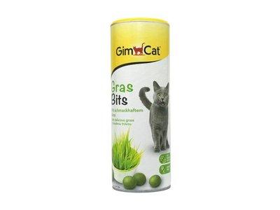 GimCat Gras Bits - Aanvullend kattenvoer / kattensnack met smaakvol gras - 40gr, 140gr en 425gr
