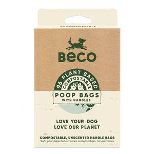 Beco Composteerbare losse hondenpoepzakjes met hengsels