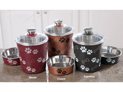 Luchtdichte snackcontainer voor hondenkoekjes - Loving Pets