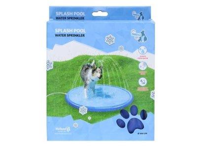 CoolPets Splash Pool Water Sprinkler - Verkoelende watersproeier voor honden - Spelenderwijs afkoelen - Eenvoudig aan te sluiten op de tuinslang