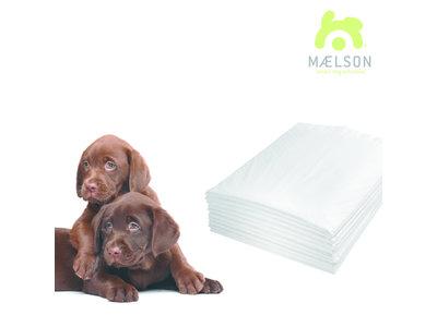 Maelson Doggie Pad™ 60 - Quick Dry Trainingspads - 60cm x 60cm - 10 of 30 Stuks - Ideaal voor Zindelijkheidstraining en Incontinente Honden of Katten