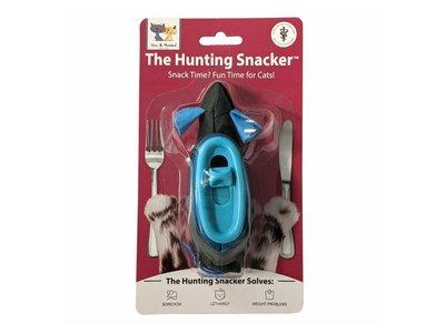 Doc & Phoebe's Hunting Snacker - Interactief snackspeeltje voor katten - Muis met snacks voor indoor hunting - Stimuleert het jachtinstinct van je kat – Kattenspeelgoed voor katten met veel energie
