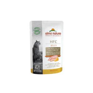 Almo Nature - Kat HFC Jelly - Natvoer voor katten