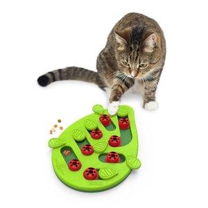 Interactieve Puzzel vulbaar met snacks voor Katten - Petstages Buggin Out