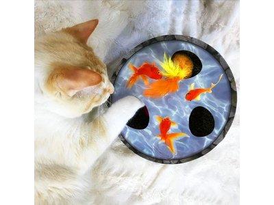 Petstages Hide & Seek Wobble Pond Krabspeelgoed met kattenkruid en vele extra's