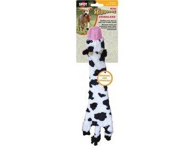 Skinneeez Plush Cow - vrij van pluche vulling - met pieper