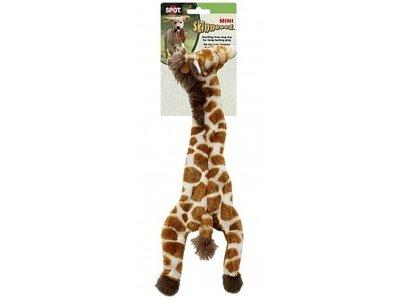 Skinneeez Plush Giraffe - vrij van pluche vulling - met pieper