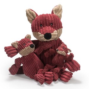 HuggleHounds Sly Fox Knottie - Hondenknuffel - XS/S/L
