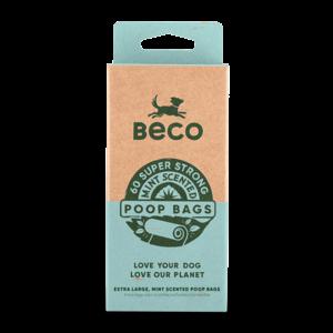 Beco Hondenpoepzakjes met Mint Geur - 60, 120 of 270 stuks