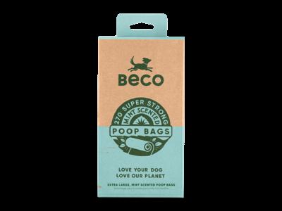 Beco Hondenpoep Zakjes met Mint Geur - Beco Poop Bags - Rollen van 15 zakjes in 60, 120 of 270 stuks verpakking