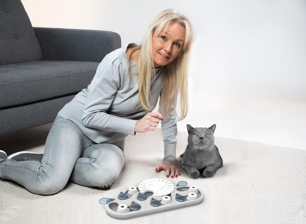 Nina Ottosson met Rainy Day Kattenpuzzel