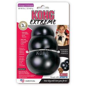 Kong Extreme hondenspeelgoed zwart