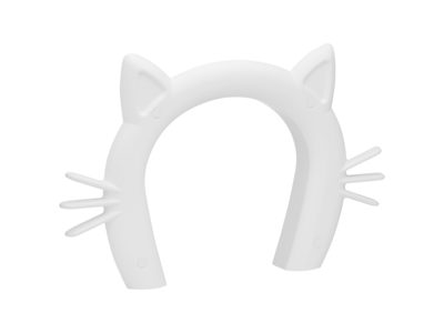 PetSafe Staywell Cat Corridor - Kattendoorgang voor binnenshuis - Overschilderbaar design - Voor katten tot 9 kg