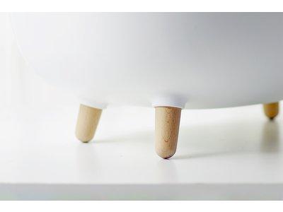 MS! Design Kattenbak - In 4 kleuren: Wit, Groen, Roze en Mosgroen  - Makkelijk schoon te maken  - Met Uitlooprooster - Inclusief Grindschepje - 60 x 38 x 45 cm