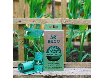 Beco Hondenpoepzakjes - Beco Poop Bags - Rollen van 15 zakjes in 60, 120 of 270 stuks verpakking - Beco Pets
