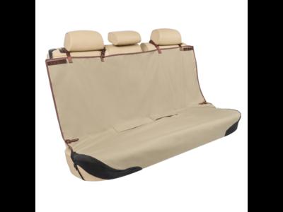 PetSafe Happy Ride™ Rear Seat Cover - Beschermhoes voor de achterbank - Waterdicht - Machinewasbaar - 114 cm lang x 142 cm breed - Kleur Beige
