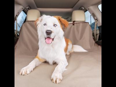 PetSafe Happy Ride™ Cargo Area Liner - Beschermt de kofferbak tegen natte poten, haren en vuil -  Machinewasbaar - Kleur Beige - 178x127cm