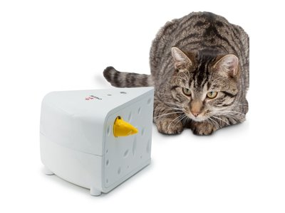 Uitdagend & Bewegend Speelgoed voor Katten - Stimuleert het jachtinstinct - Automatische modus - Frolicat Cheese