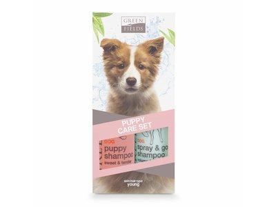 Vacht Verzorging Set voor Puppy - Shampoo en Spray