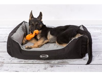Scruffs Water- en Vuilafstotende Hondenmand in Grijs en Bruin