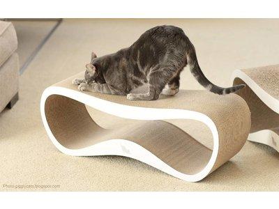 Krabmeubel Modern Design - myKotty Lui in Wit, Grijs, Bruin en Zwart