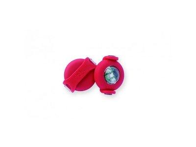 Veiligheid Hondenlampjes voor op Riem of Halsband - Curli Luumi - in Blauw, Rood, Wit of Zwart
