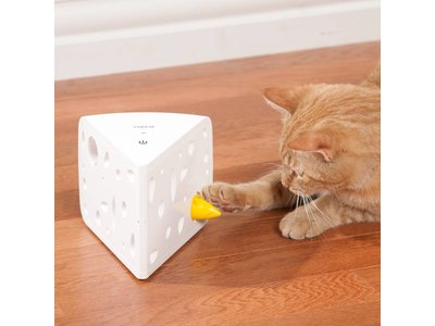 Uitdagend & Bewegend Speelgoed voor Katten - Stimuleer het jachtinstinct met automatische modus - Frolicat Cheese