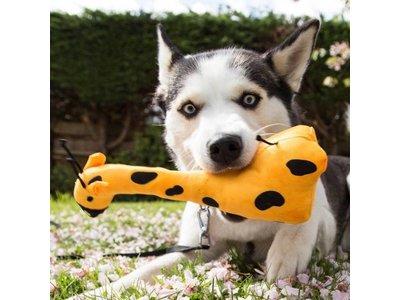Honden Knuffel Giraffe - Sterk en van Pluche - Beco Pets - S/M/L