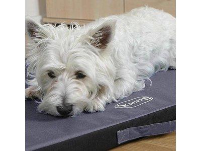 Vuil- & Waterafstotend Hondenmatras voor Binnen & Buiten - Scruffs - In Chocolade of Grijs XS/S/M/L/XL