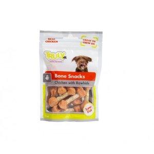 Hondenkluifjes met gedroogde Kip en Rund (15 zakjes)
