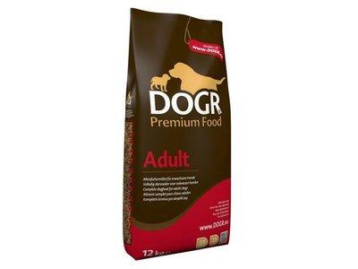 Adult Premium Hondenvoeding voor Volwassen Honden - DOGR - 2kg of 12kg