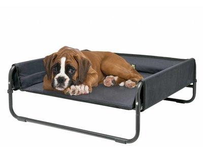 Maelson Soft Bed: Verhoogd en Opvouwbaar Hondenbed met Verwijderbare en Wasbare Hoes in S/M/L