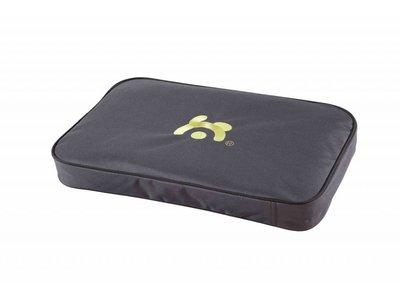 Maelson Lounge Mat - Waterafstotend en dik hondenmatras voor in bench - Slijtvast met wasbare buitenhoes - Comfortabel - Zwart - XXS / XS / S / M / L / XL / XXL