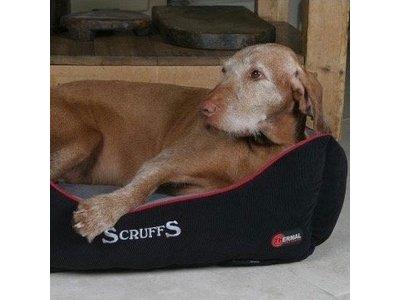 Warme Hondenmand voor Koude Dagen met Superzachte Fleece hoes - Scruffs - S/ML/XL in Grijs en Bruin
